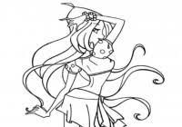 Disegni Principesse Winx Da Colorare Gratis Immagini Winx Club Da