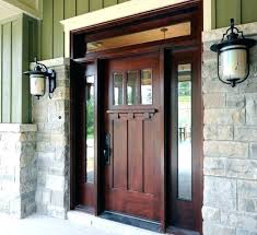front door with side windows. Craftsman Front Door With Sidelights Doors Side Windows Style Fiberglass Entry . G