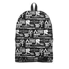 <b>Рюкзак 3D Логотипы</b> игр #2776003 – <b>рюкзаки</b> с принтами в ...