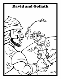 Small Picture David And Goliath Coloring Pages glumme