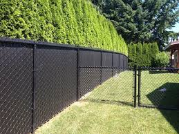 black chain link fence with privacy slats. Fine Link Privacy Slatted Black Chain Link Intended Fence With Slats Pinterest