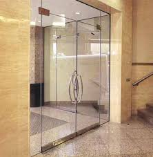 framless glass door frameless details dwg
