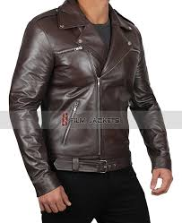 brown moto leather jacket chocolate brown biker jacket mens brown motorcycle style jacket