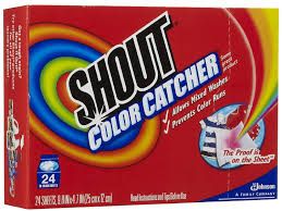 Capture Loose Dyes In Your Laundry With The Shout Color Catcher