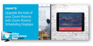 Upgrade The Look Of Your Zoom Rooms With Zoom Rooms Scheduling