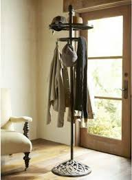Wrought Iron Standing Coat Rack Entryway Wrought Iron Standing Coat Rack Attractive And Functional 41
