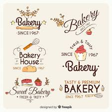 Bakery Logo Collection Vector Free Download
