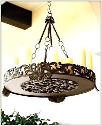 fashionable outdoor candle chandelier battery chandeliers for gazebos