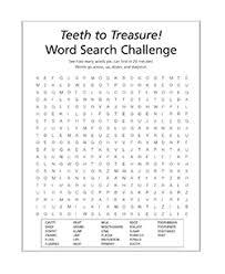 Search For Teens Activity Sheets