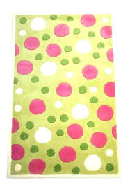 polka dot rug kids pink green and room more area home ideas centre south round polka dot rug