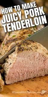 how to cook pork tenderloin easy to