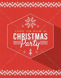 Christmas Flyer Templates Christmas Party Announcement Christmas Flyer Template