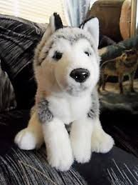 image is loading toys r us wolf plush 12 034 siberian