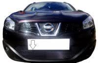 «<b>Защита радиатора</b> Nissan Qashqai 2011-2014 <b>черная</b> ...