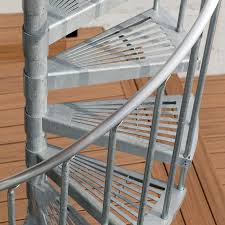 exterior metal staircase prices. industrial modern design. the galvanized exterior spiral stair metal staircase prices