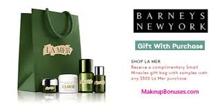 receive a free 4 pc gift with your 300 la mer purchase