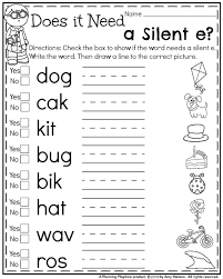 Two ways to print this free phonics educational worksheet: Remarkable Kindergarten And First Grade Worksheets Image Ideas Math Worksheet