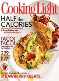 Cooking Light Healthy Cooking Light Mag Three Bakers