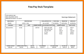 paycheck stub sample free pay stub template free 12 contractor pay stub template samples of