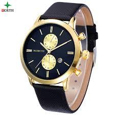 aliexpress com buy reloj hombre mens watches top brand luxury reloj hombre mens watches top brand luxury gold watch men leather waterproof fashion quartz wristwatch business