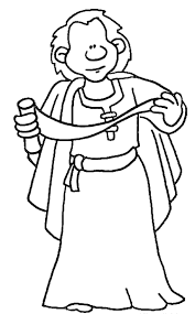 Apostle Paul Coloring Page Wecoloring