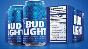 Calories In Castle Light Bud Light Will Be First Beer With Nutrition Facts