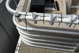 homemade rod holders for pontoon boat