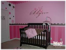 Painted Contemporary Decorating Ideas For Baby Girl Nursery Modern Simple  Black Bedroom Door Furniture