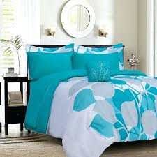 turquoise and white bedding s excellent