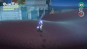 round the back of the central large structure in sand kingdom is a sphinx answer his question and you ll get access to a treasure room filled with coins