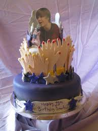 birthday cake for girls 11. Simple For Justin Bieber Birthday Cake On Central Intended For Girls 11 E