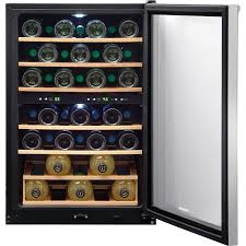 Frigidaire Vending Machines Inspiration Refurbished Frigidaire 48 Bottle Wine Cooler Stainless Steel