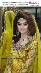 mayun bridals makeup looks dresses designs 2016 2017 trends