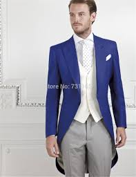 Coat Pant Design For Marriage 2015 Us 87 22 51 Off Blue Groom Tuxedos Groomsmen Mens Wedding Party Suits Homens Blazer Latest Coat Pant Designs In Suits From Mens Clothing On