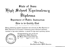 how my past brought me to the present vocational resources plus llc state of iowa high school equivalency diploma amy elizabeth prochnow 10