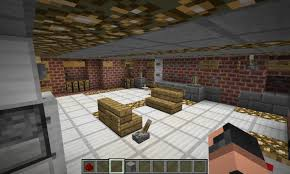 Kitchen For Minecraft Hi Tech House Working Bathroom And Kitchen Minecraft Project