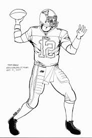 Small Picture Tom Brady Coloring Pages For Kids And For Adults Coloring Home