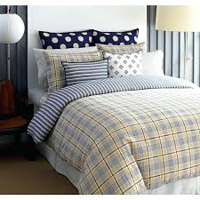 spectator plaid 3 piece cotton comforter set tommy hilfiger bed twin xl sets