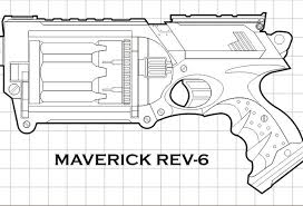 Small Picture Nerf gun colouring pages draw nerf gun coloring pages 73 on free