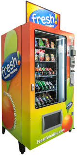 Fresh Vending Machines Best The Combo Fresh Healthy Vending