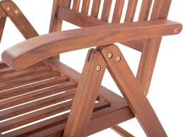 type of furniture wood. Wooden Chair With Adjustable Backrest - Haydn_558297 Type Of Furniture Wood B