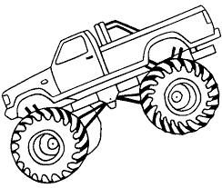 e5df54cb36fab5679e095e32f9eb363a monster truck off road coloring page off road car car coloring on jacked up truck coloring pages