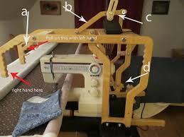 Best 25+ Grace quilting frame ideas on Pinterest | DIY long arm ... & My Sewing Machine Obsession: Grace Machine Quilt Frame Adamdwight.com