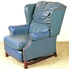 used furniture s netherlands leiden blue leather recliner navy chairs splendid reclin