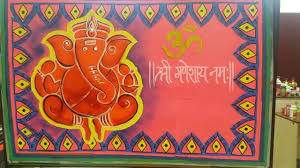 Decoration For Ganesh Chaturthi In School