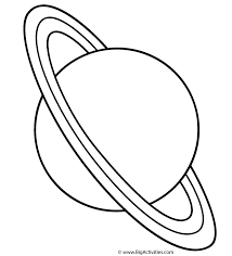 Small Picture Planet Uranus with title2 Coloring Page Space