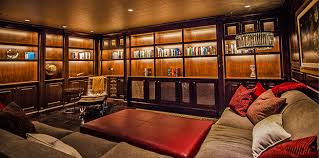 wine room lighting. Project Profile: Home Theater Transformed With Secret Wine Room -  SoundVision | San Francisco, Marin, Napa, Sonoma Wine Room Lighting