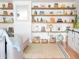 build floating shelves for uneven walls