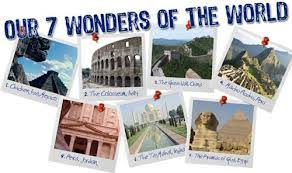 acirc see the wonders of the world official bucket list see the 7 wonders of the world bucket list ideas
