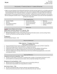 Example Of Accountant Resumes Entry Level Accountant Resume Example And 5 Tips For Writing